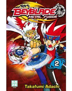 Manga Beyblade Metal Fusion tome 02