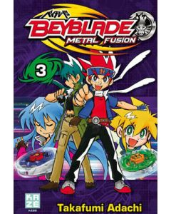 Manga Beyblade Metal Fusion tome 03