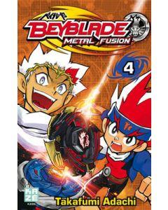 Manga Beyblade Metal Fusion tome 04