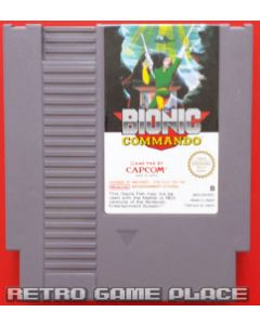 Jeu Bionic Commando pour NES