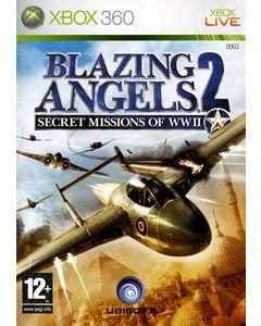 Jeu Blazing Angels 2 Secret Missions of WW II pour Xbox 360
