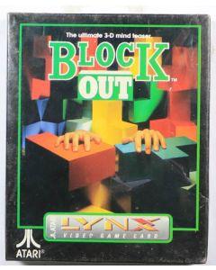 Jeu Block out (neuf) pour Atari Lynx