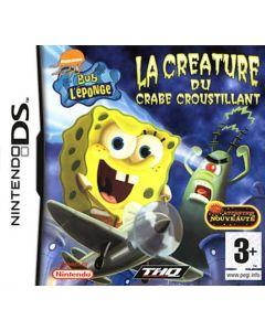 Jeu Bob L'éponge - La créature du crabe croustillant pour Nintendo DS