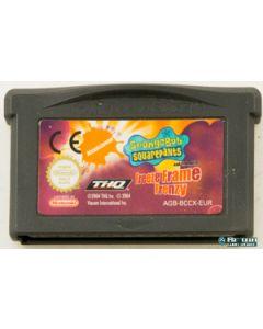 Jeu Bob l'éponge Freeze Frame Frenzy pour Game Boy advance