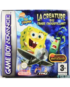 Jeu Bob l'éponge L'attaque du crabe croustillant pour Game Boy Advance