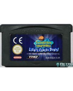 Jeu Bob l'éponge Silence, on tourne! pour Game Boy Advance
