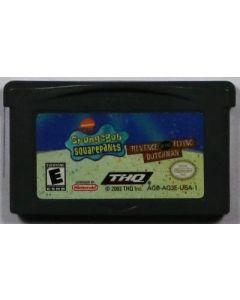 Jeu Bob l'éponge Revenge of the Flying Dutchman pour Game Boy Advance