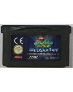 Jeu Bob l'éponge Silence on tourne! pour Game Boy Advance