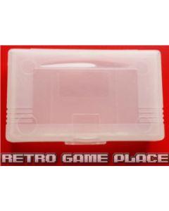 Boîtier pour jeu Gameboy Advance Transparent