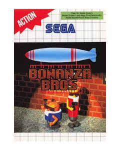 Jeu Bonanza Bros pour Master System