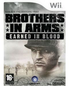 Jeu Brothers in Arms - Earned in Blood pour Nintendo Wii