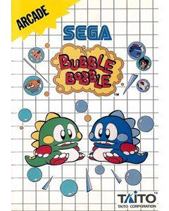 Jeu Bubble Bobble pour Master System