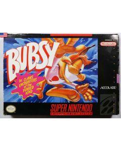 Jeu Bubsy pour Super NES