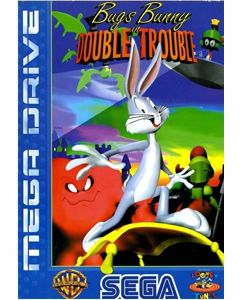 Jeu Bugs Bunny Double Trouble pour Megadrive