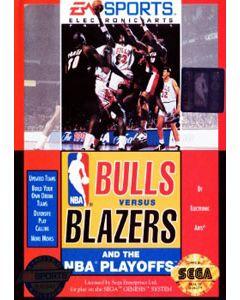 Jeu Bulls Versus Blazers and the NBA Playoffs pour Megadrive