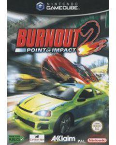 Jeu Burnout 2 Point of Impact pour Gamecube