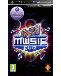 Jeu Buzz ! The Ultimate Music Quiz pour PSP