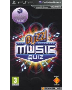 Jeu Buzz! The Ultimate Music Quiz pour PSP