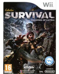 Jeu Cabela's Survival- Shadow of Katmai pour Nintendo Wii