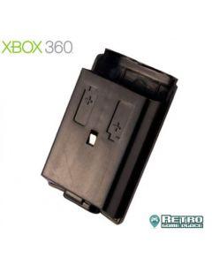 Cache pile Noir pour manette Xbox 360