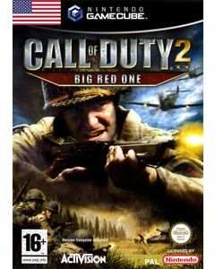 Jeu Call of Duty 2 : Big Red One pour Gamecube