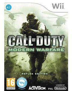 Jeu Call of Duty Modern Warfare pour Wii