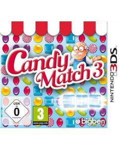 Jeu Candy Match 3 pour Nintendo 3DS