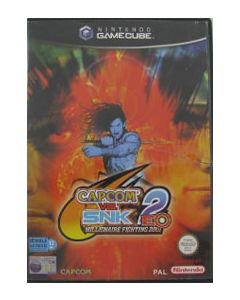 Jeu Capcom VS SNK 2 EO pour Gamecube