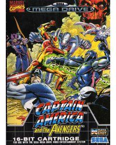 Jeu Captain America and the Avengers pour Megadrive