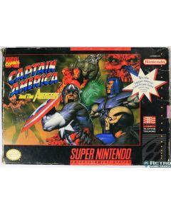 Jeu Captain America and the Avengers pour Super NES
