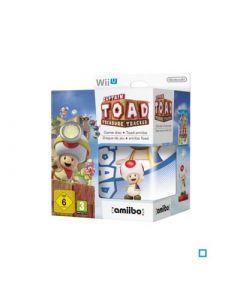Jeu Captain Toad Treasure Tracker avec Amiibo (neuf) pour Wii U