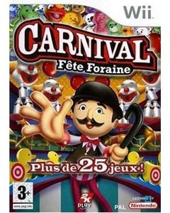 Jeu Carnival Fête Foraine pour Wii