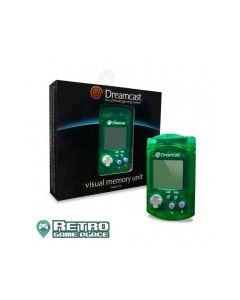 Jeu Carte mémoire Visual Memory verte pour Dreamcast pour
