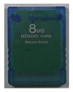 Carte mémoire officielle Bleue Playstation 2 - 8mo