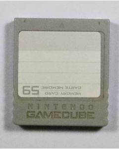 Carte mémoire officielle Gamecube