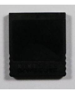 Carte mémoire officielle Gamecube noire