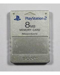 Carte mémoire officielle Playstation 2 Argent