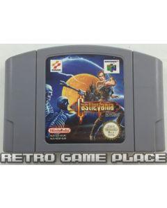 Jeu Castlevania pour Nintendo 64