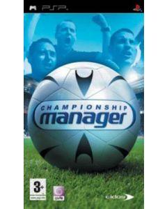 Jeu Championship Manager pour PSP