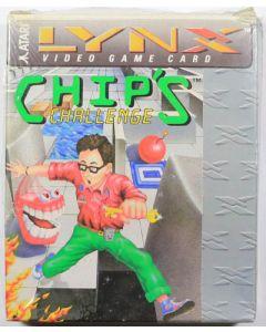 Jeu Chip's Challenge en boîte pour Atari Lynx