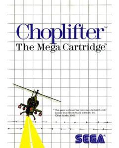 Jeu Choplifter pour Master System