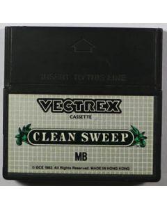 Jeu Clean Sweep pour Vectrex