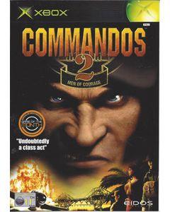 Jeu Commandos 2 Men of Courage pour Xbox