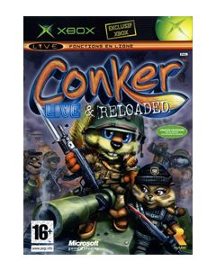 Jeu Conker Live and Reloaded pour Xbox