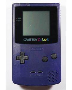 Console Game Boy Color violette (jaunie)