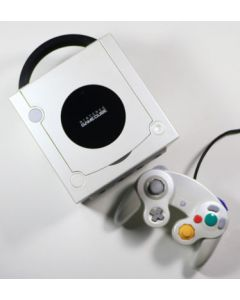 Console Game Cube Blanche Nacrée