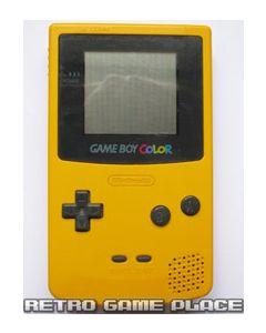 Console Game boy Color Jaune