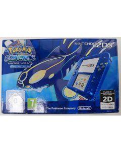 Console Nintendo 2DS Bleue Pokémon Alpha Saphir