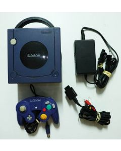 Console Nintendo Gamecube violette (jaunie)