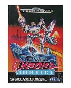 Jeu Cyborg Justice pour Megadrive